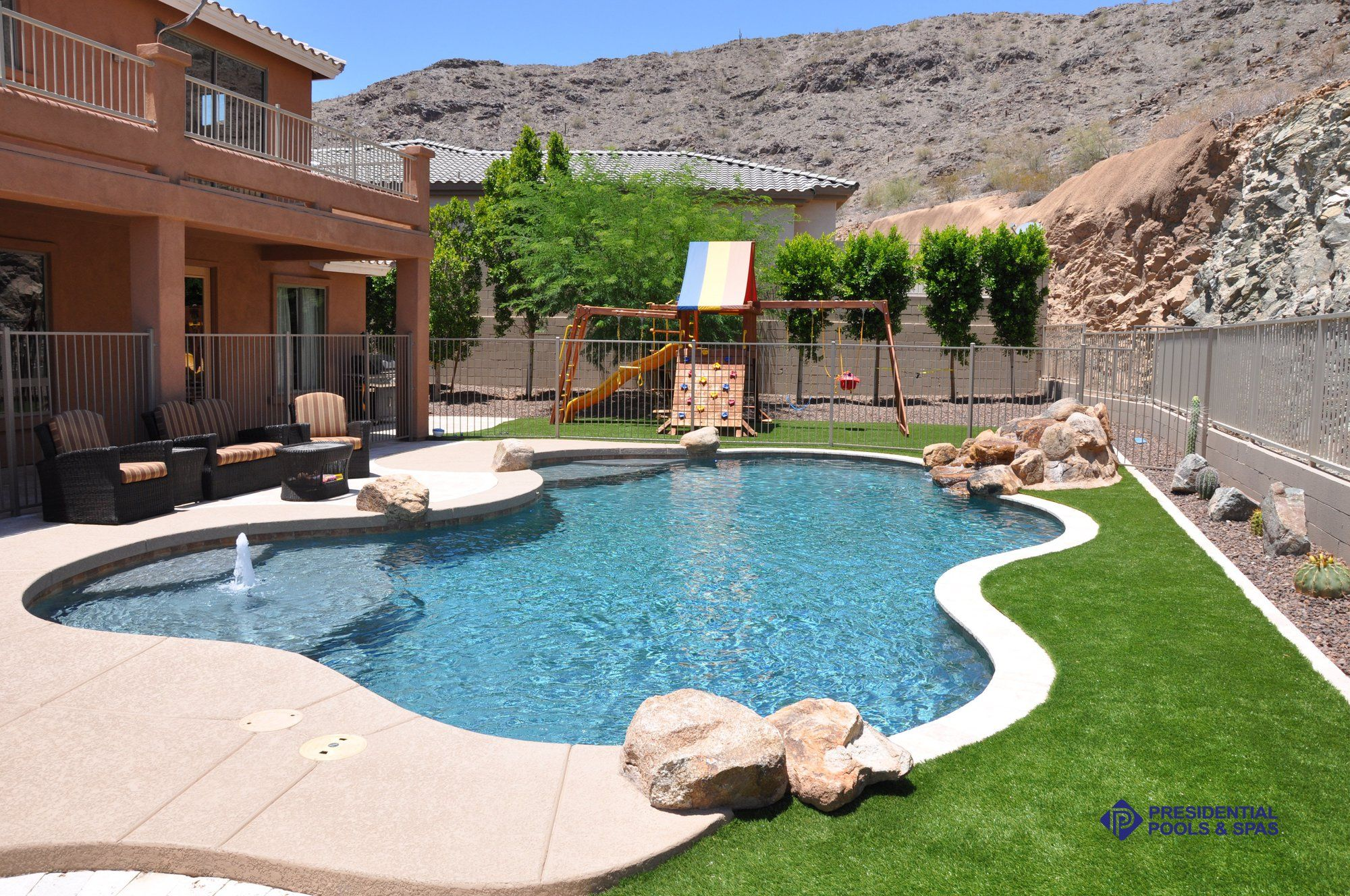 Click To Close Image Click And Drag To Move Use Arrow Keys For Next And Previous Pools Backyard Inground Small Backyard Pools Backyard Pool Landscaping