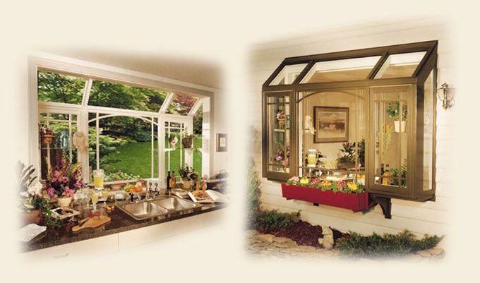 Kitchen Garden Windows By Renaissance Conservatories