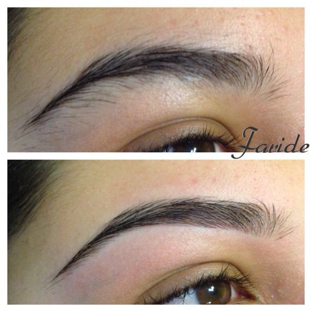Eyebrow Threading Eyebrows Before And After Threading Pinterest