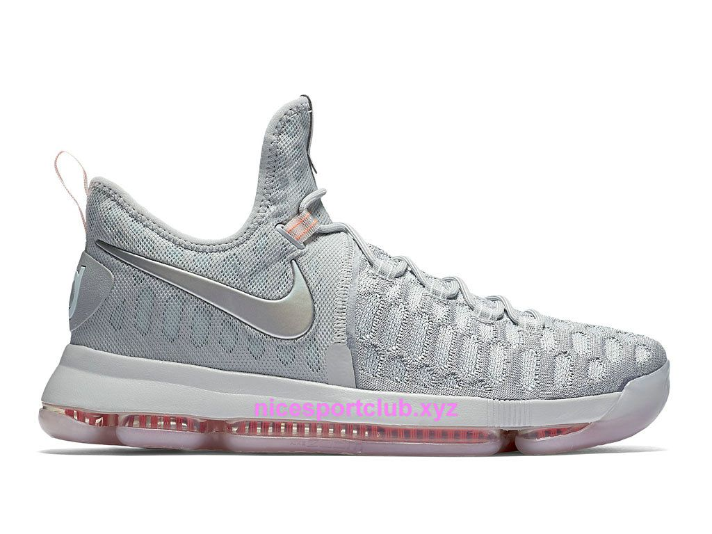 Homme Chaussures BasketBall Nike KD 9 Pre Heat Prix Pas Cher ...