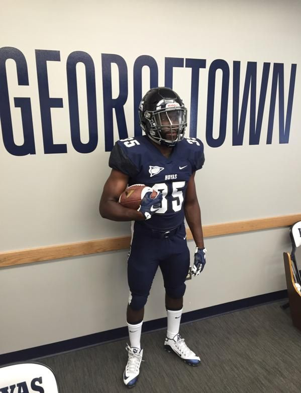 a121b6a2ee5 New look for Georgetown  uniswag