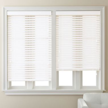 jcpenney home smooth fauxwood blinds found at