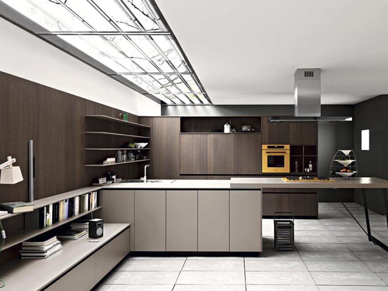 Fitted Kitchen With Island KALEA By CESAR ARREDAMENTI