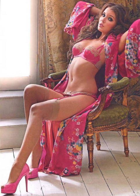 019ef92065c31 Sexy pink oriental kinono