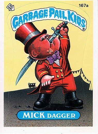 Junkfood John Garbage Pail Kid Via Dale L Brown Garbage Pail Kids Pail Garbage Pail Kids Cards