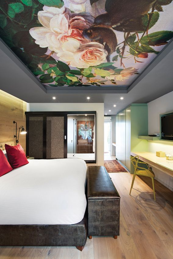 Pin On Bedroom Inspo Ceiling wallpaper ideas uk