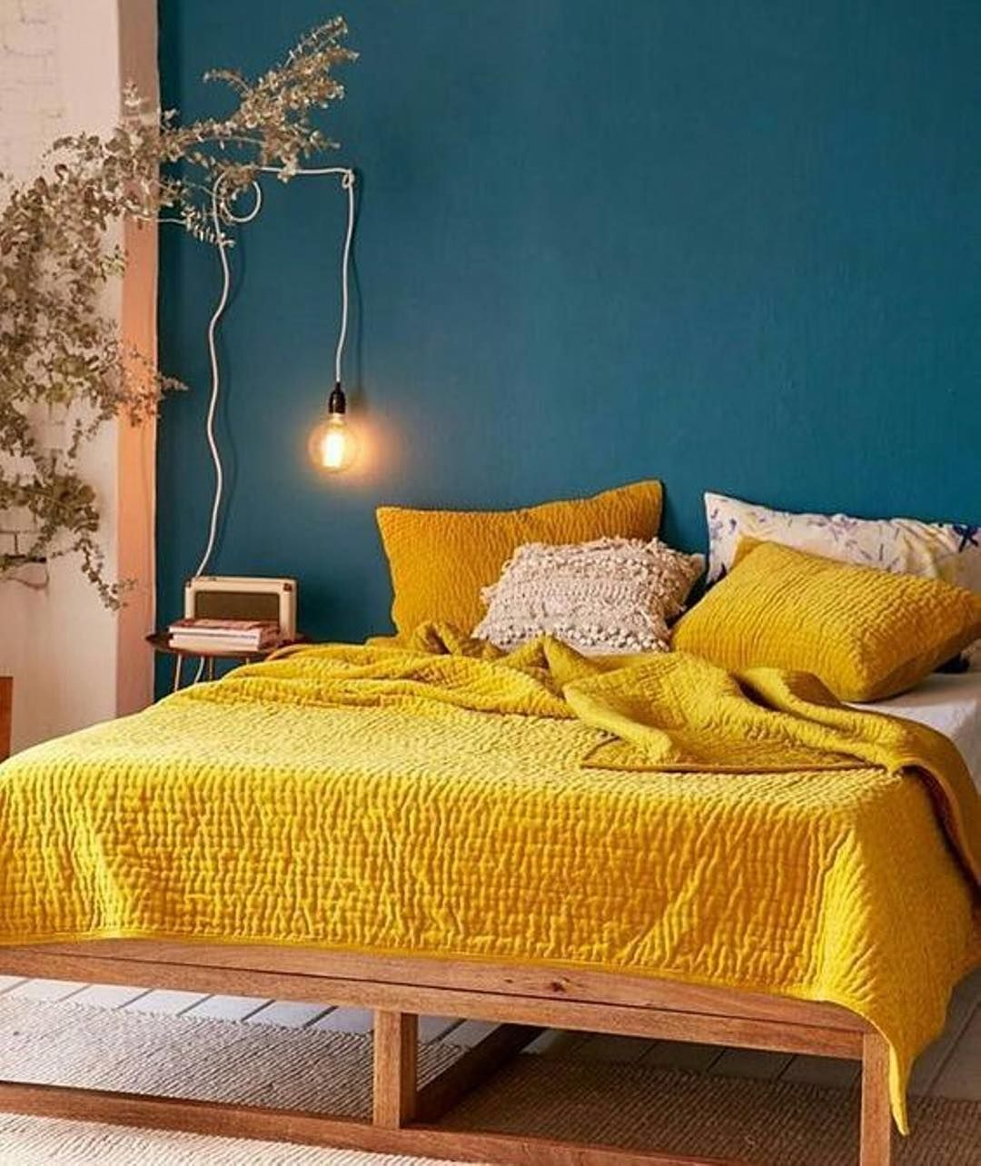 If you were going to paint an accent wall in your bedroom which ...