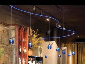 monorail pendant lighting. Monorail Systems - Brand Lighting Curved LBL Illuminated With Blue LED Generator Gelato Pendants In Pendant