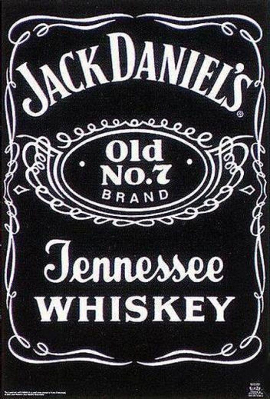 Jack Daniels Label Personalised Name Age
