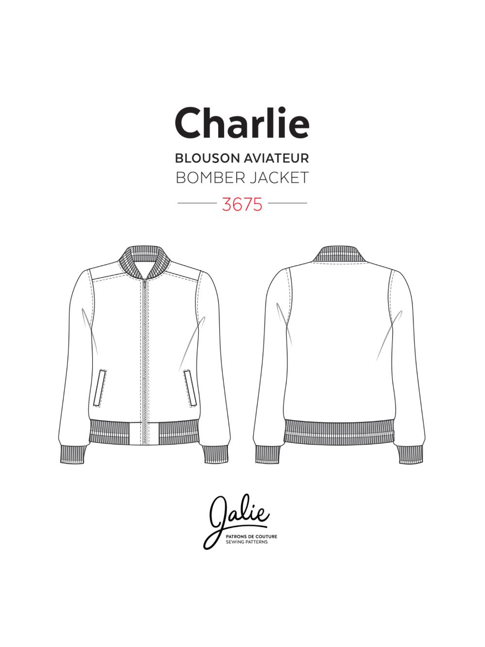Charlie Bomber Jacket Bomber Jacket Women Patterned Bomber Jacket Bomber Jacket