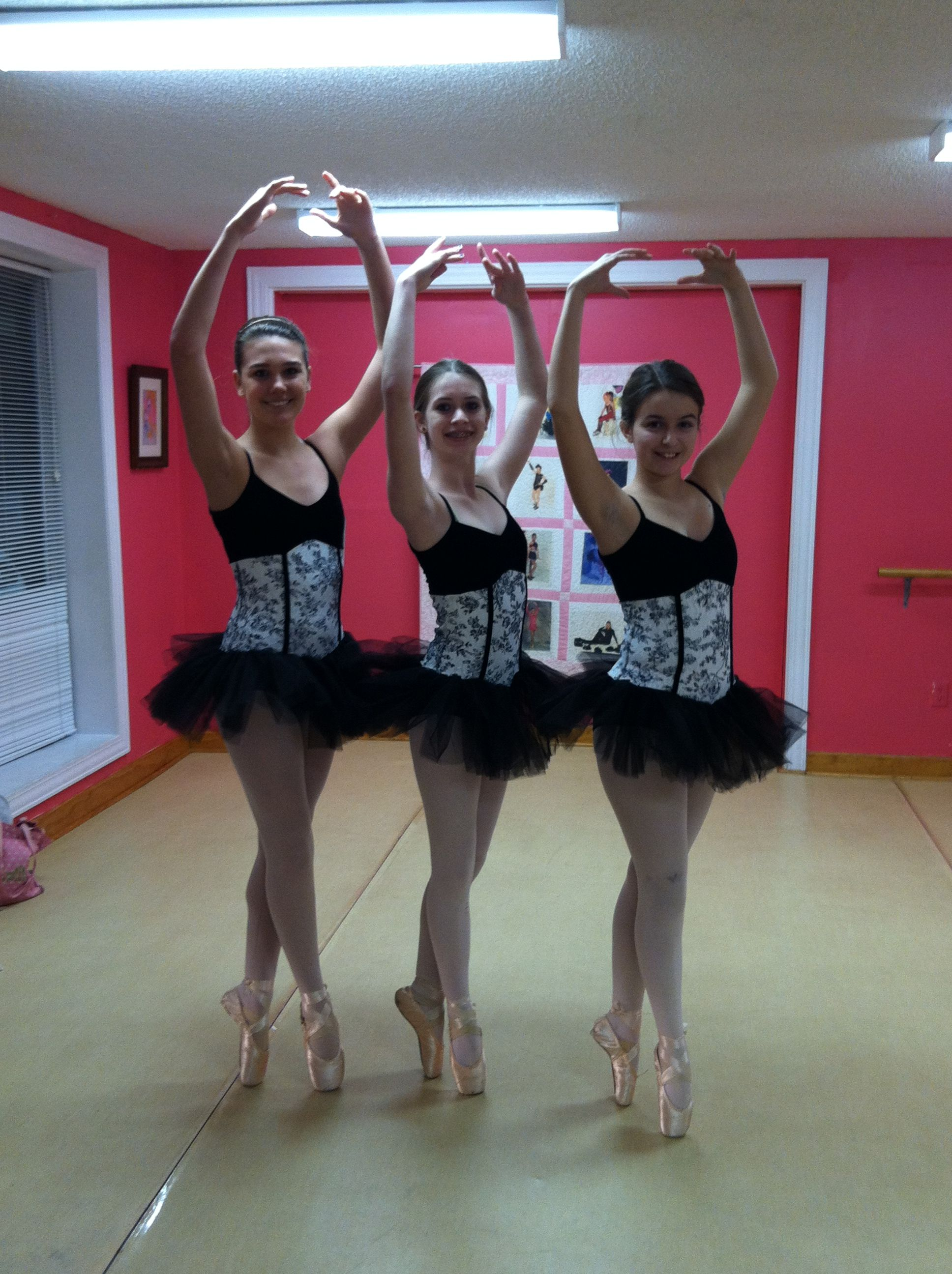 Costume Day For Our Beautiful Pointe Class