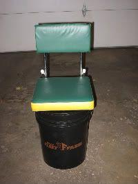 5 gallon bucket modifications ice fishing pinterest for Fishing bucket seat