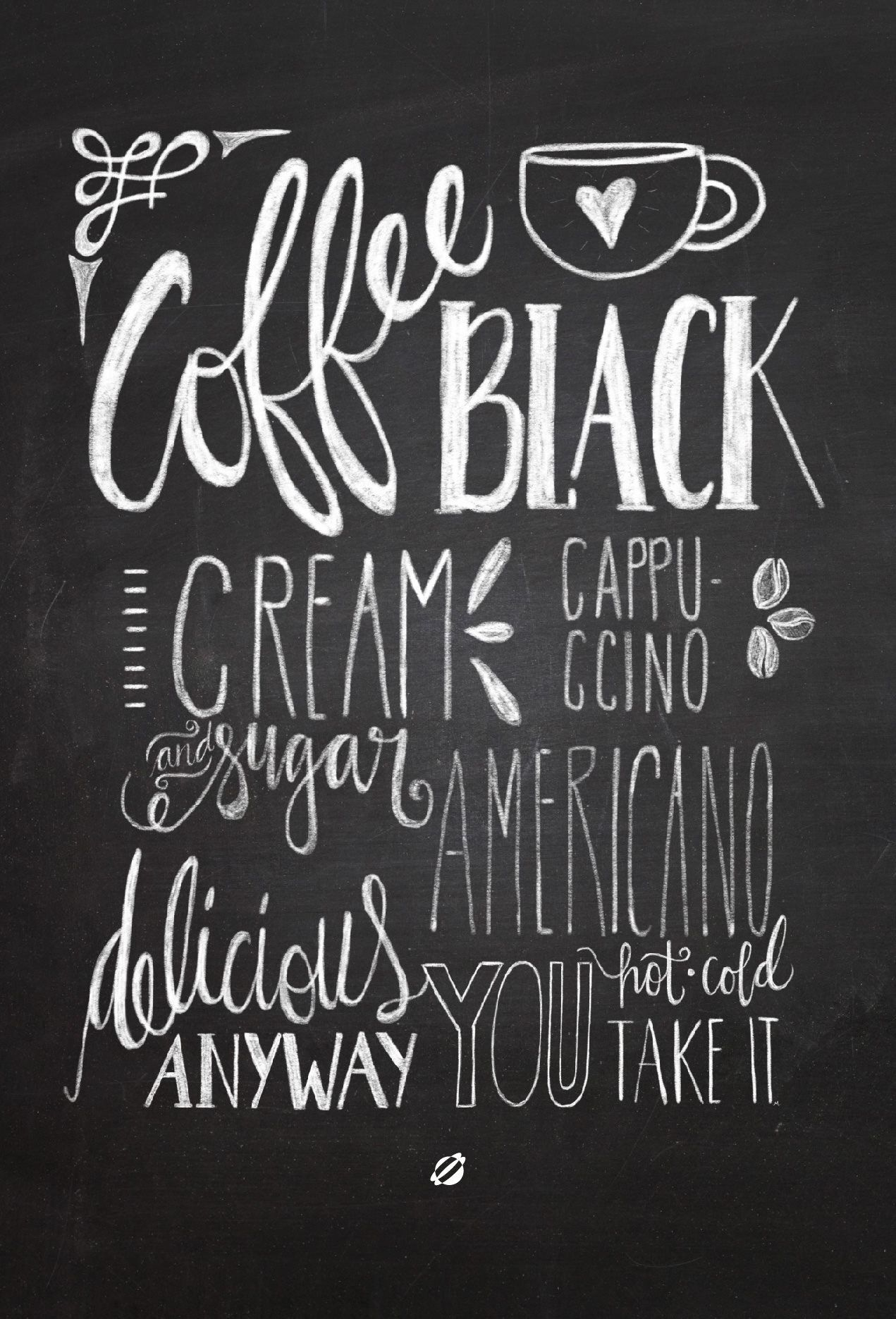 all the delicious words coffee love pinterest chalkboards