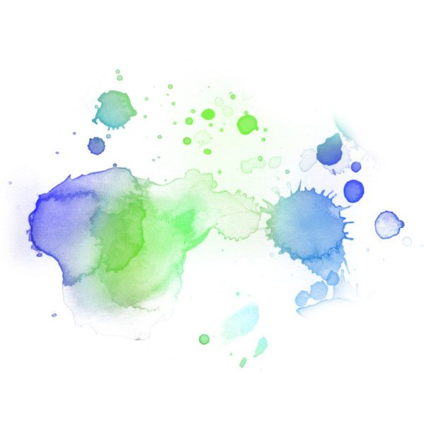 Watercolor Splashes Found On Polyvore Watercolor Splash