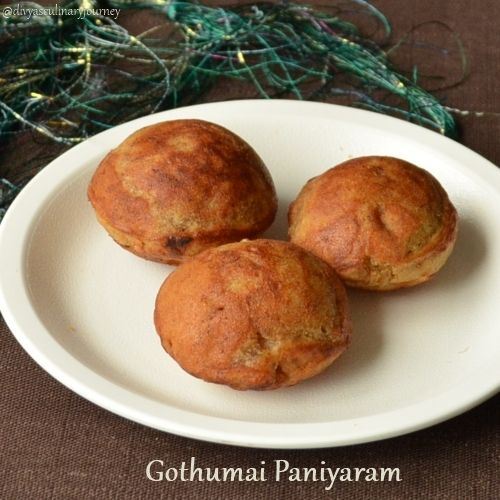 Photo of Appam (using Paniyaram Pan) | Godhumai Paniyaram | Sweet Wheat Aebleskiver
