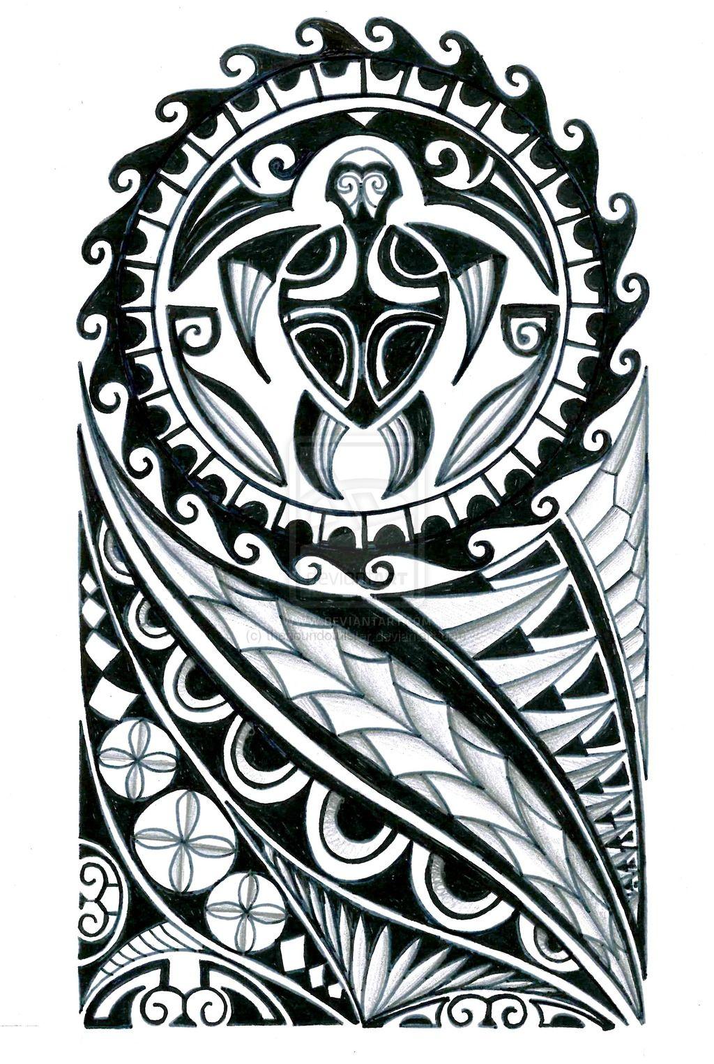 Polynesian_half_sleeve_tattoo_design_by_thehoundofulster