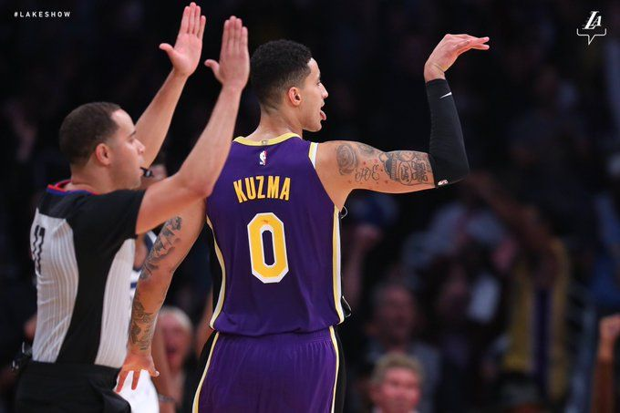 Los Angeles Lakers The Official Site Of The Los Angeles Lakers Kyle Kuzma Kyle Los Angeles Lakers