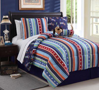Leo The Dog Full Comforter Set 9 Pc Comforter Sets Kids