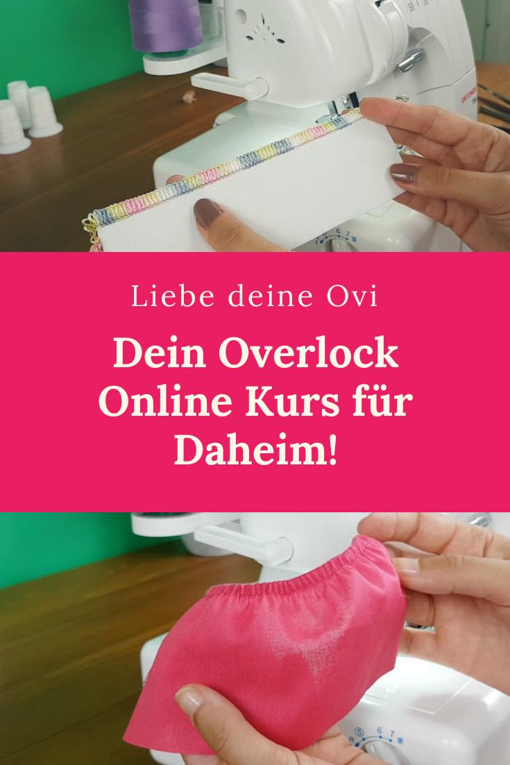 Photo of Overlock nähen lernen von Daheim!