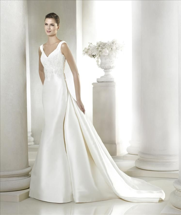 Gorgeous Saela gown with detachable train! Available at Carrie ...