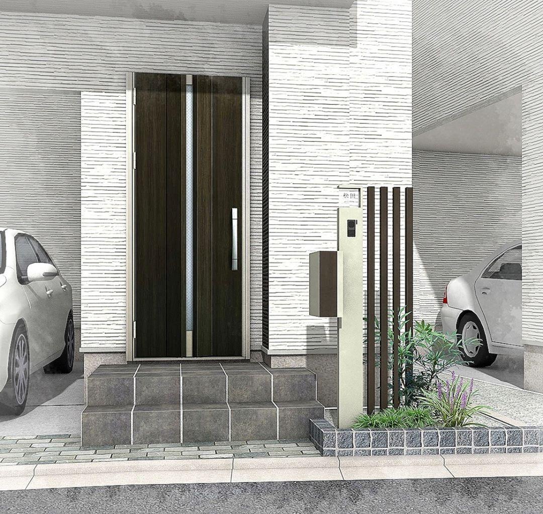 いいね 0件 コメント1件 Kanako Fujisakiさん Coniwaexterior のinstagramアカウント 機能門柱のデザイン バリュータイプの機能門柱に角柱を合わせて少し豪華にしました 都市型のモダン住宅に機能門柱は似合いますね 画像あり シンプルモダン 家 外観