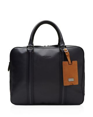 f95d5c88ac TED BAKER Dice Leather Document Bag.  tedbaker  bags  shoulder bags  hand  bags  polyester  leather  lining