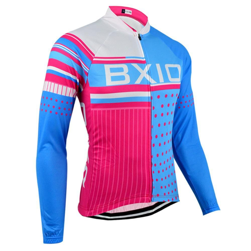 BXIO Winter Cycling Clothing MTB Bike Clothes Pro Team Cycling Jersey Long  - US  28.79 4ba841d6e