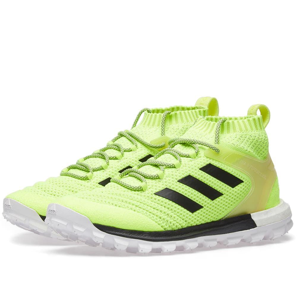 Gosha Rubchinskiy x Adidas Copa Primeknit Boost Mid Sneaker Yellow