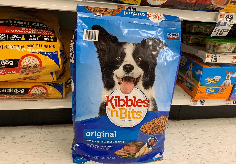 New 1/1 Kibbles 'n Bits Dry Dog Food Coupon + Deals at