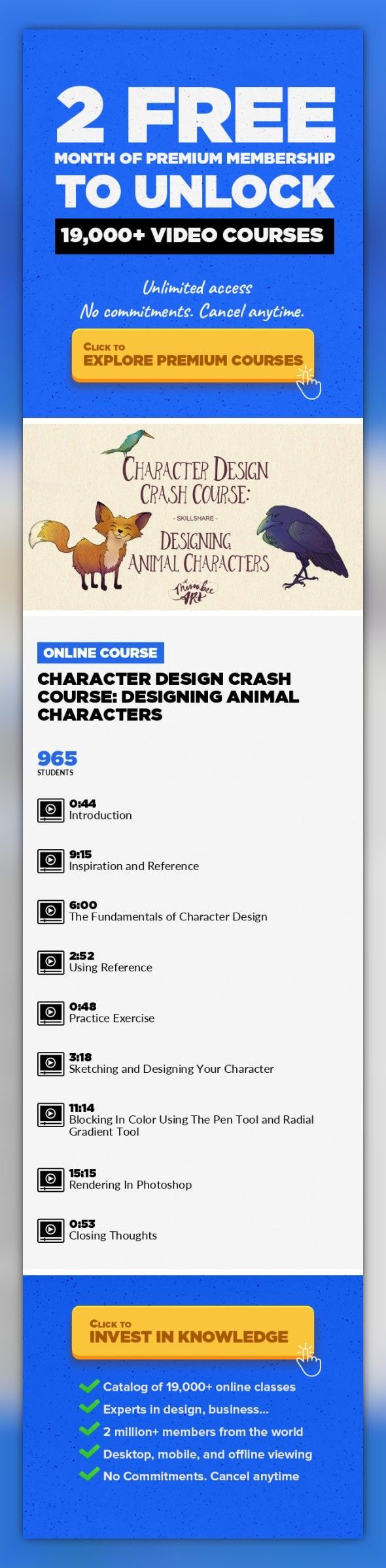 Character Design Courses University : Character design crash course: designing animal characters