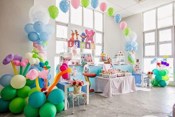 decoracin de fiestas infantiles de pocoyo