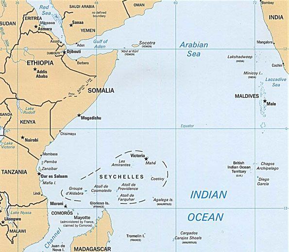 Seychelles Islands Location seychellesmap Seychelles