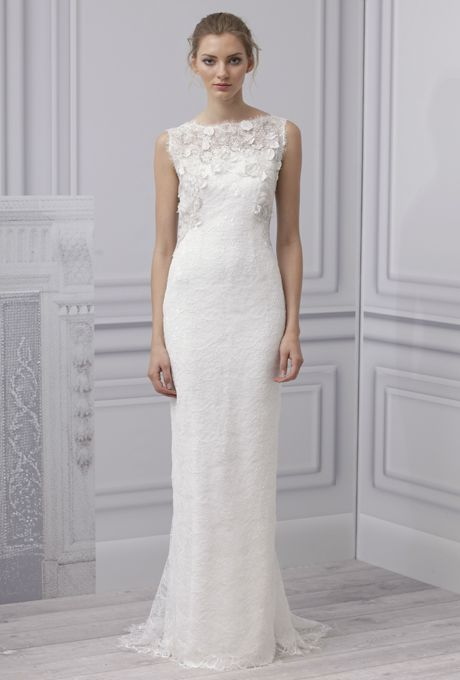 Monique Lhuillier's 2013 Bridal Collection | Editor, Wedding and ...