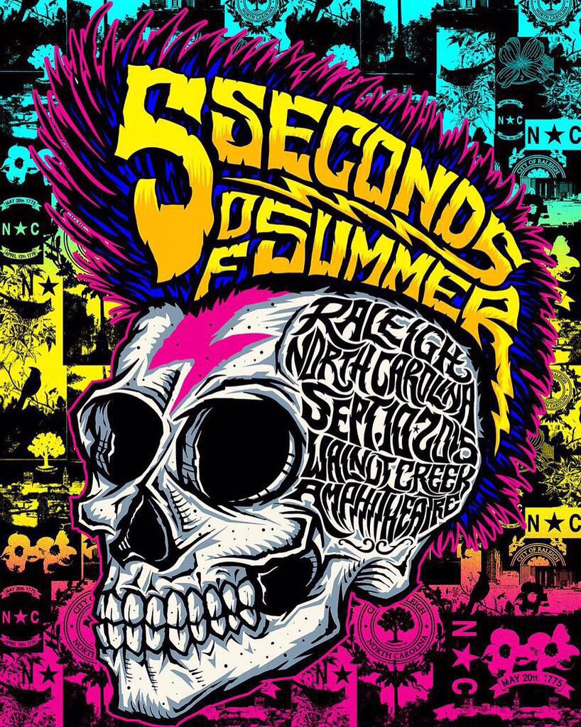 5sos poster design - Find This Pin And More On Rowyso Posters 5 Seconds Of Summer Graphic Design