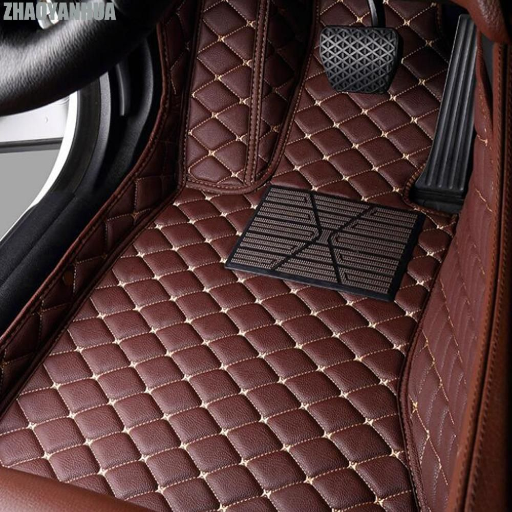 Zhaoyanhua Car Floor Mats Made For Toyota Prius Xw30 Vios 5d Full Cover Case Car Styling Carpet Anti Custom Car Interior Toyota Prius Car Interior Accessories