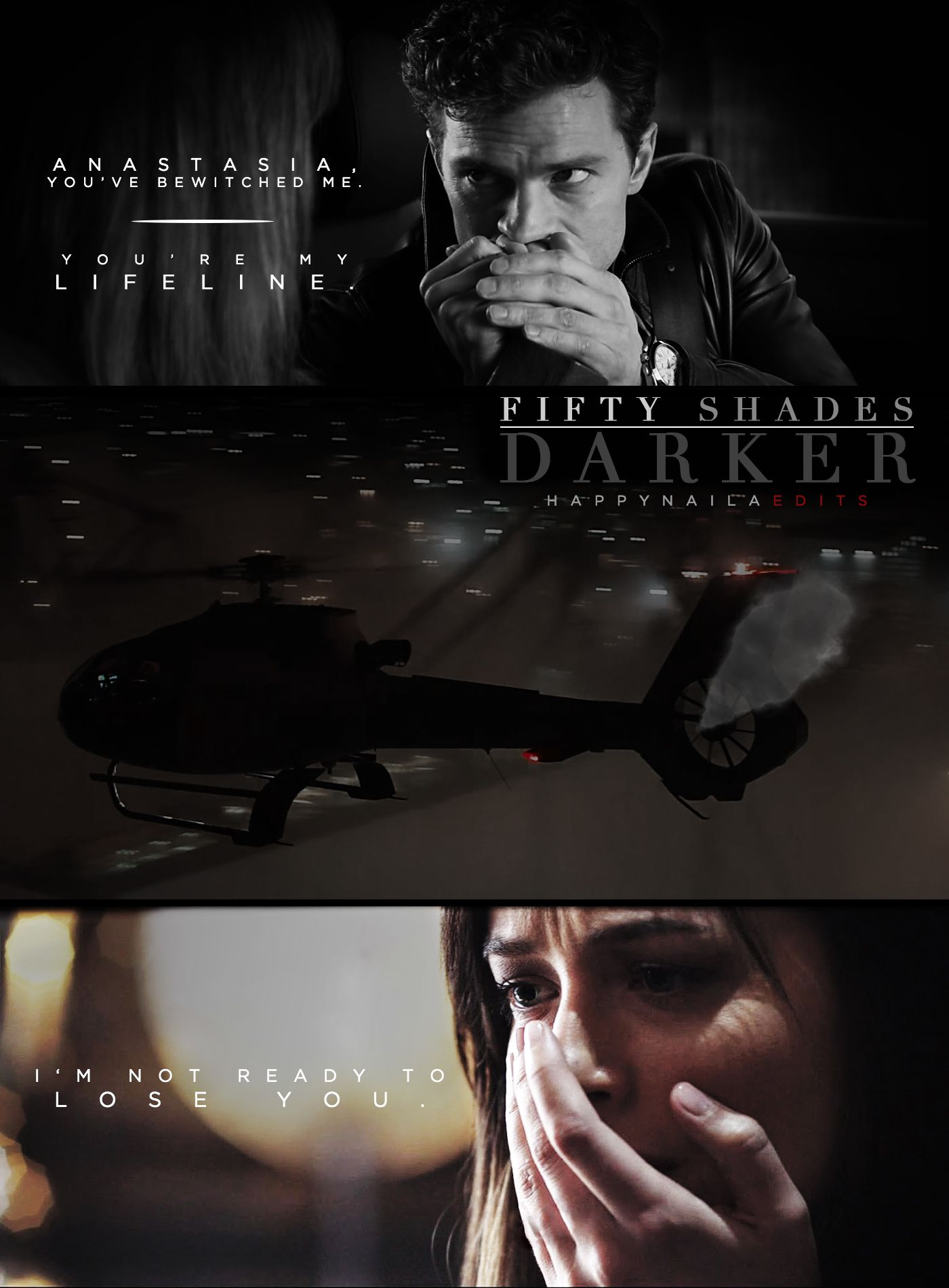 I'm not ready to lose you. #FiftyShades https://www.pinterest.com/lilyslibrary/ #FiftyShadesDarker