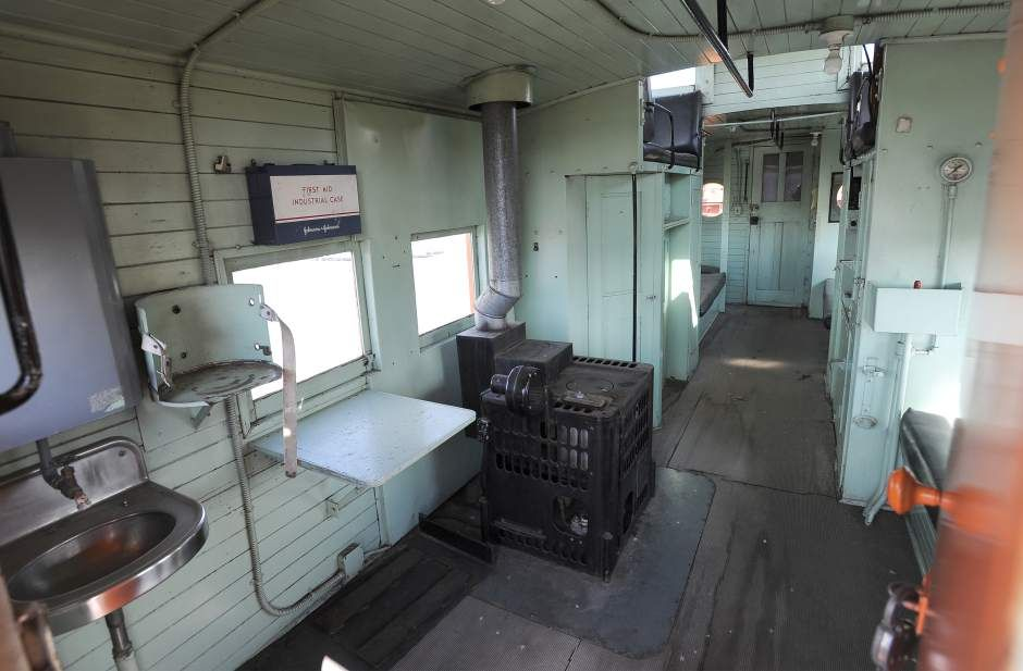 Prineville railroad's caboose a moving dilemma (With