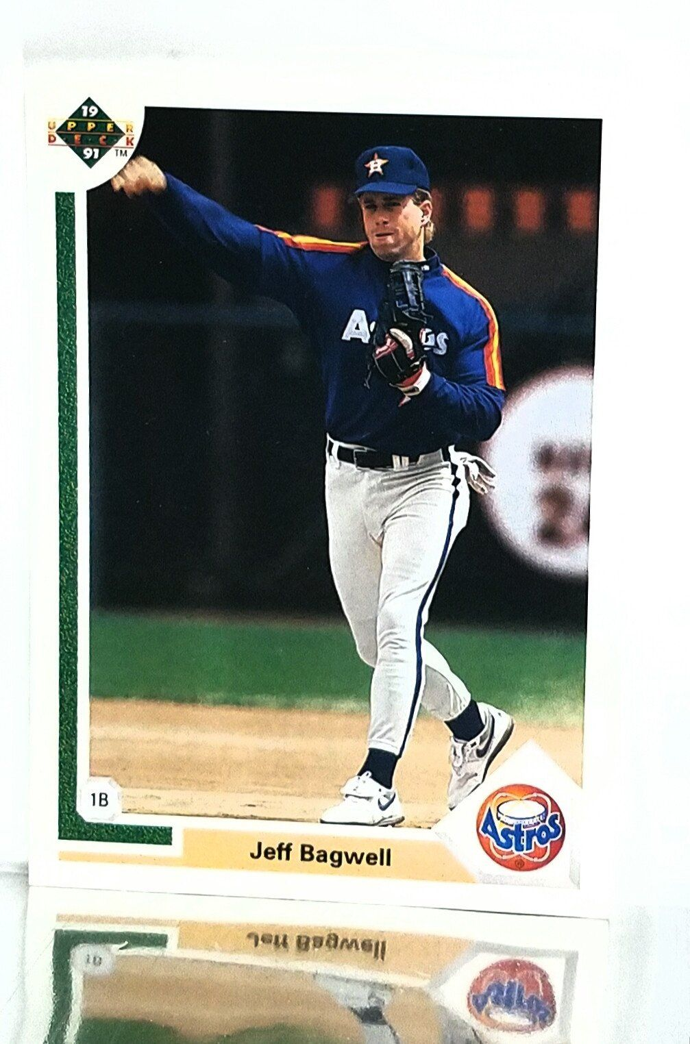 1991 upper deck 755 jeff bagwell rookie card elected to