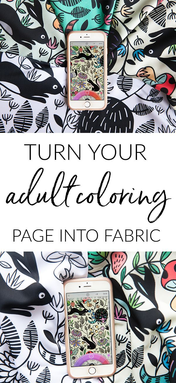 Turn Your Adult Coloring Page Into Fabric With Lake Book App And Spoonflower