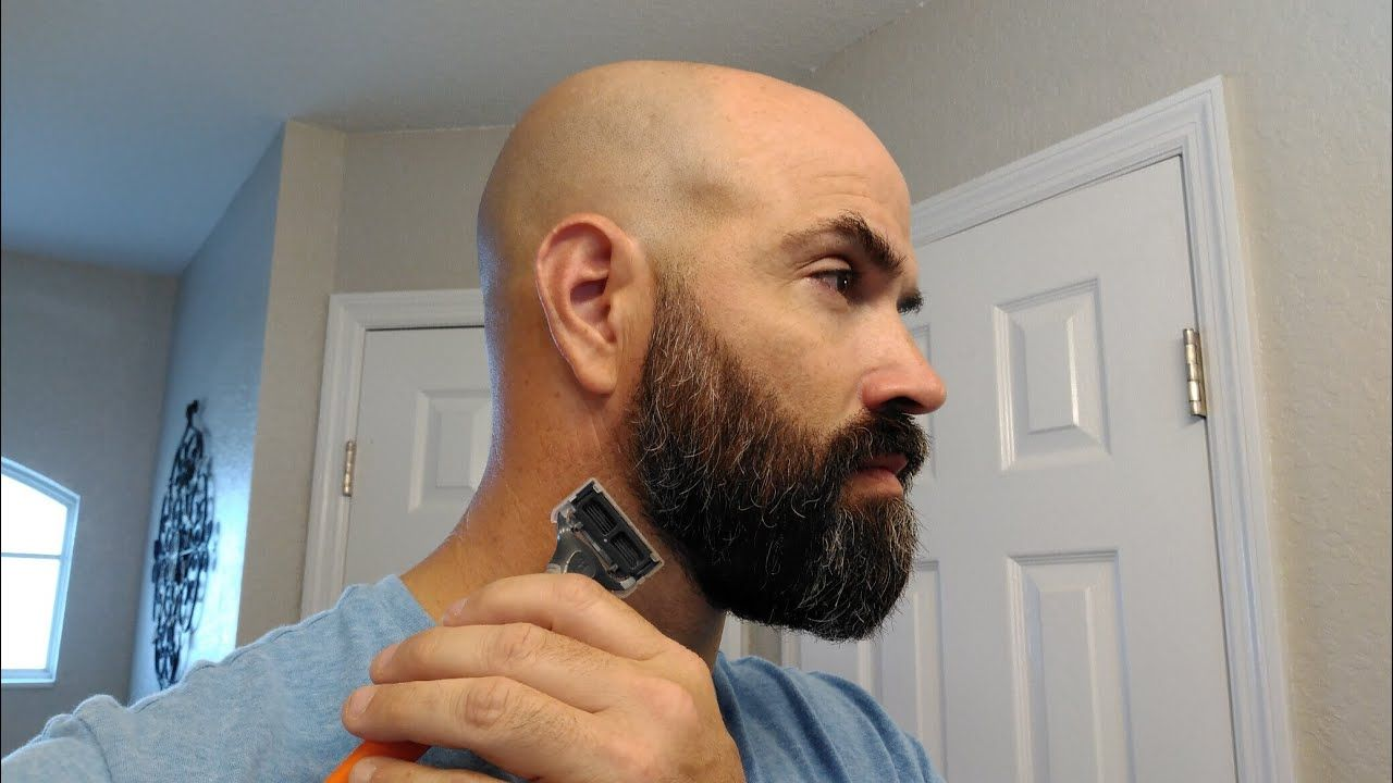 How To Properly Trim A Beard Neckline Beard Neckline Beard Tips Beard