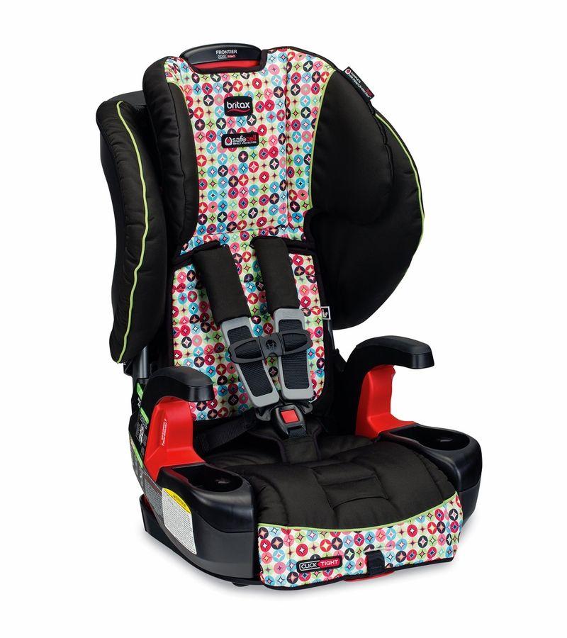 Britax Frontier ClickTight Harness Booster Car Seat - Kaleidoscope ...