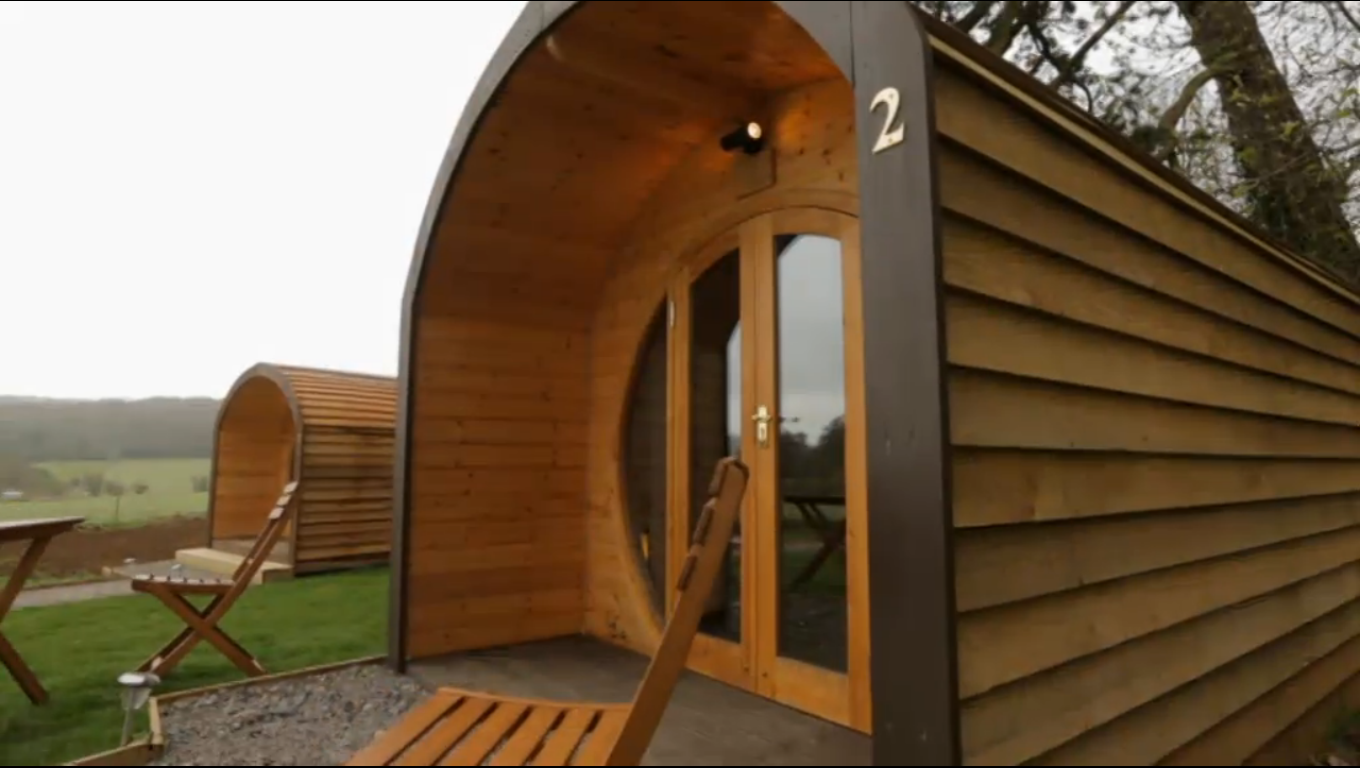 Accessible Glamping Pods As Seen On George Clarke 39 S Amazing George Clark 39 S Amazing Spaces