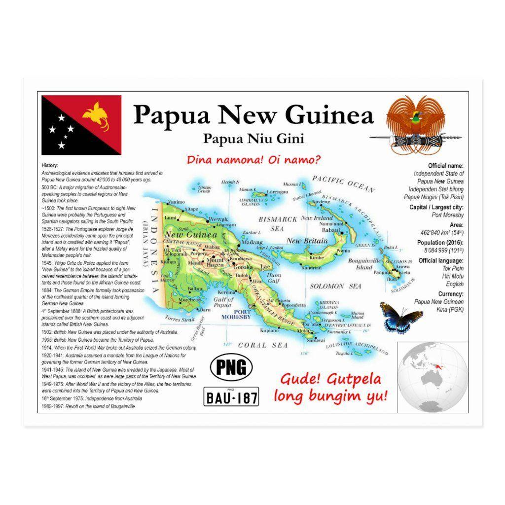 Papua Neuguinea Karte Postkarte Weltkarte Postkartenserie Kartenpostkarte Mit Fakten Uber Papua Neuguinea Grusse Aus P In 2020 Postkarten Papua Neuguinea Weltkarte