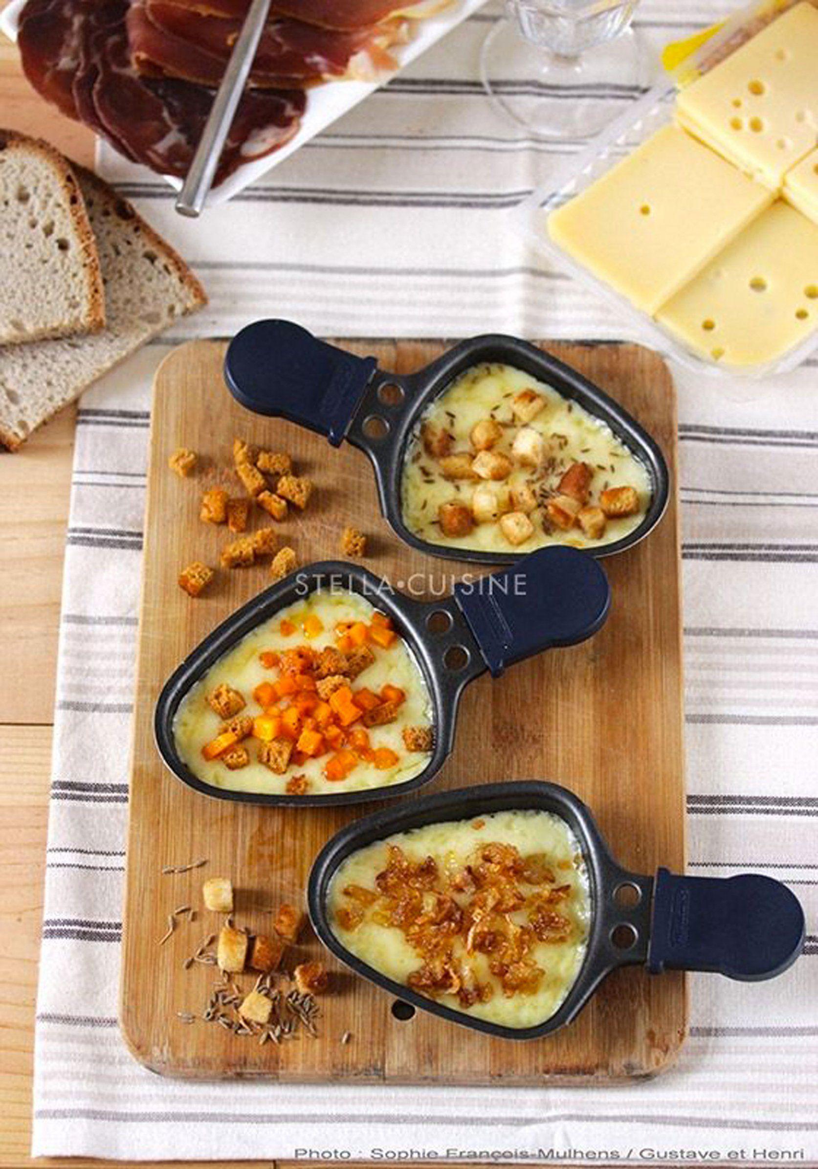 Idée Raclette 12 idées de recette sur Pinterest pour changer de la raclette