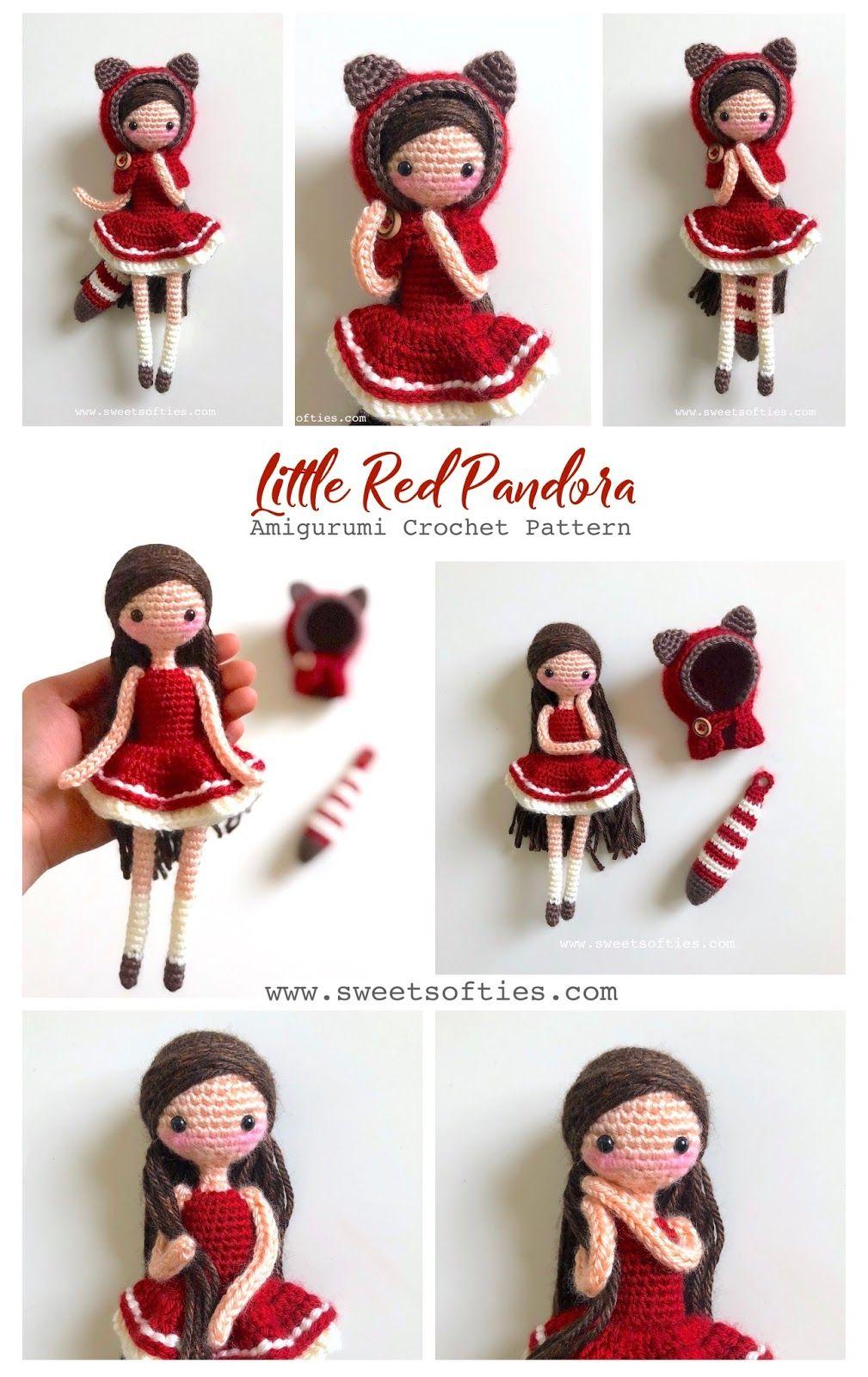 Amigurumi Kokeshi Doll Free Crochet Pattern | 1600x1009