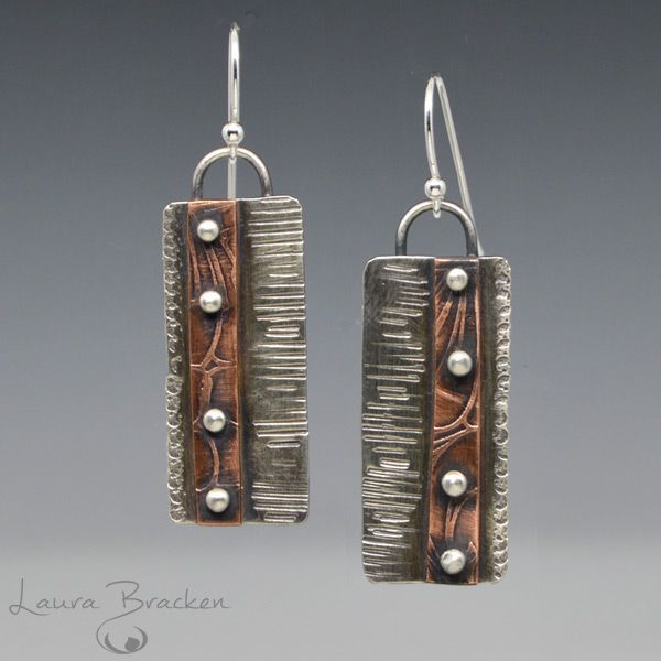 Jewelry 60% OFF! Handmade Sterling silver and Copper Riveted Earrings #Jewelry #style #Accessories #shopping #styles #outfit #pretty #girl #girls #beauty #beautiful #me #cute #stylish #design #fashion #outfits #diy #design