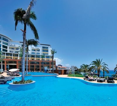 Pestana Promenade Hotel in Funchal Madeira, a 4 star hotel near the Lido on the ocean front: http://www.pestana.com