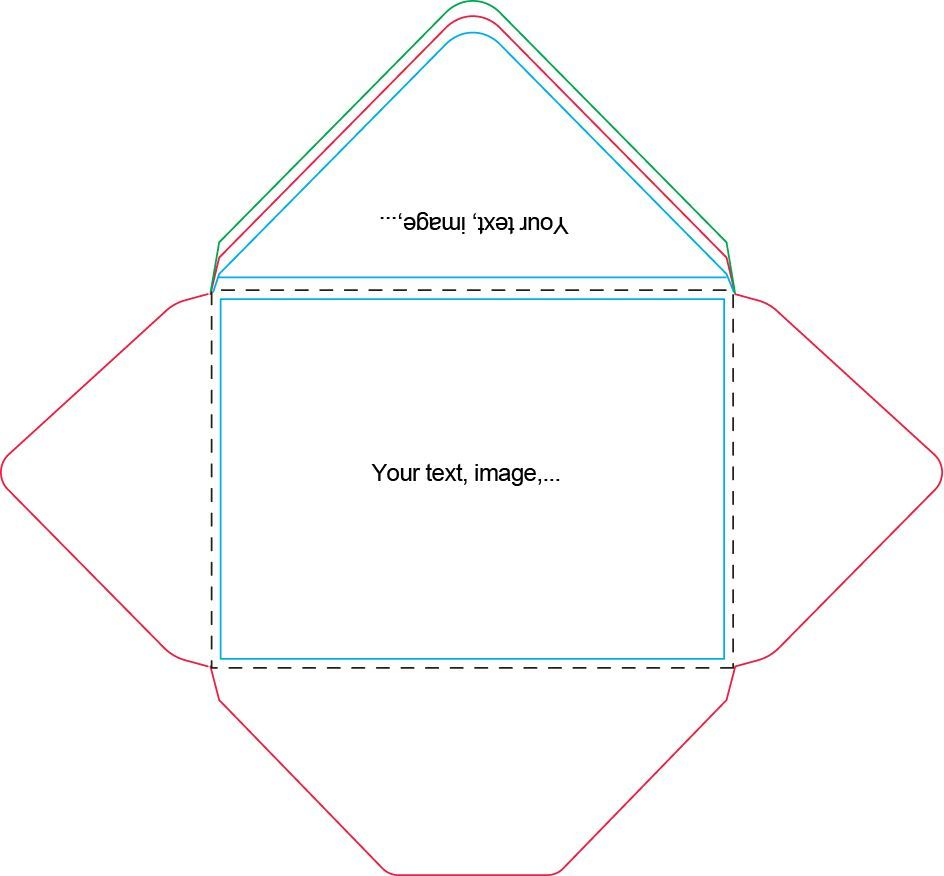 A7 Envelope Template Craft Ideas Card Making Tutorials With Envelope Templates For Car A7 Envelope Liner Template Envelope Liner Template Envelope Template