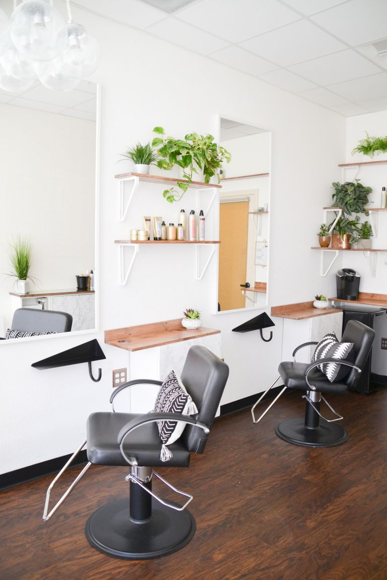 before + AFTER // Ash + Mae Hair Loft // Newport Beach