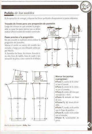 Pin De Garcia Levano En Pantalones Libros De Moda Patrones De Costura Libros De Costura